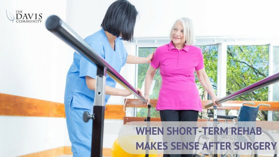 How do you know when rehab makes sense after surgery?