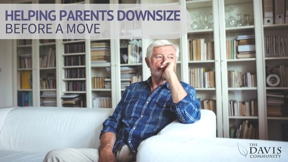 Helping seniors downsize before a move