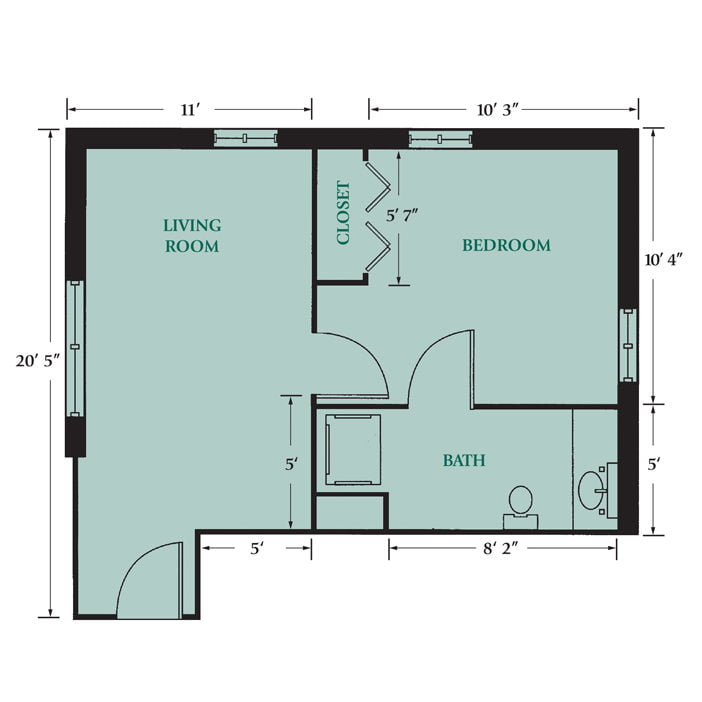 Independent Living Apartments and Cottages
