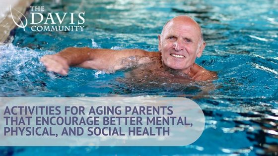 Activities for seniors that promote good health.