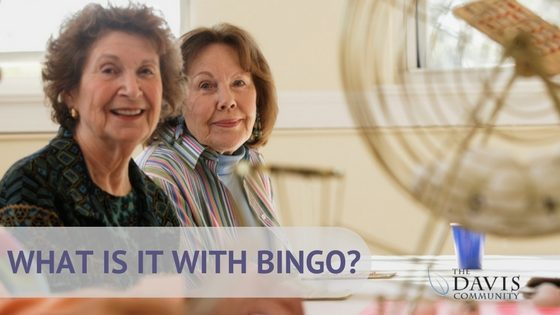 What is it about seniors and bingo?