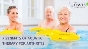 Aquatic therapy may be the perfect solution if you suffer from arthritis and find it a challenge to exercise.