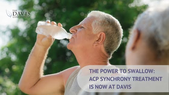 The Davis Community now offers ACP Synchrony Treatment for dysphagia right here in Wilmington, NC.