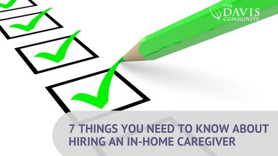 7 Things You Need to Know About Being an In-Home Caregiver