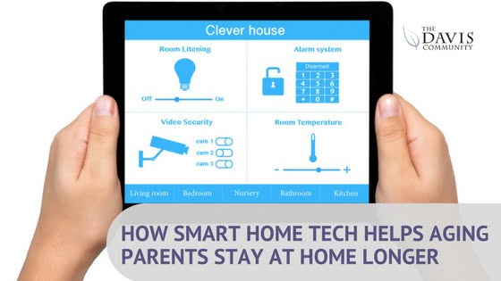 Help your aging loved one stay at home longer with these smart tech devices!