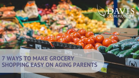 Make Grocery Shopping Easier on Your Aging Parents
