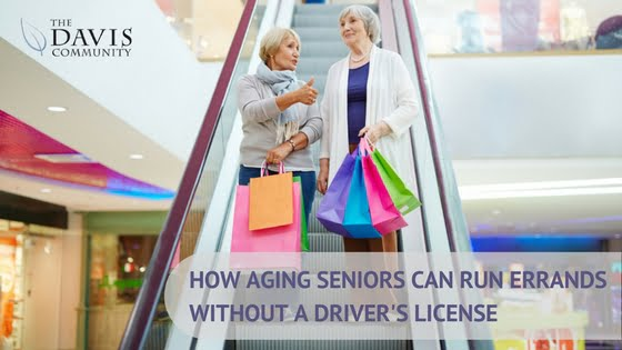 Running errands without a license can be challenging. Here's how seniors and their loved ones can get by.