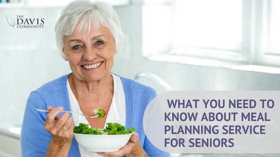 What you need to know about meal planning services for seniors.