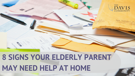 8 Signs Your Elderly Parent May Need Help at Home