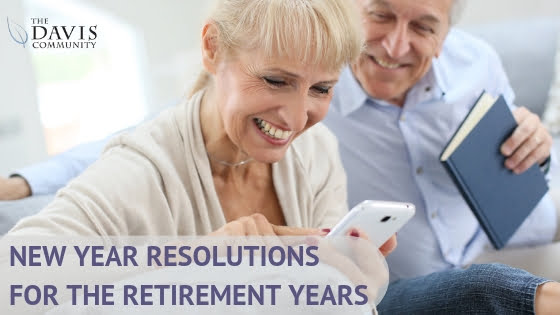 Here are seven attainable New Year's resolutions for retirees!