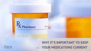 Your medications are important. Keep them current, and dispose of them safely!