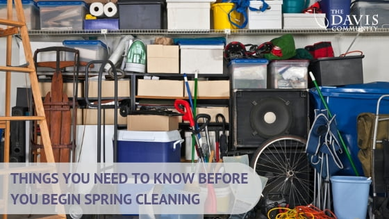 Things to think about before you begin your spring cleaning