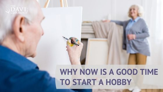 Looking for something to do? Why not start a new hobby!