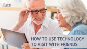 Follow these simple steps to visit with friends using apps!