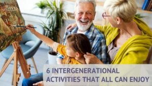 You'll love these six intergenerational activities!