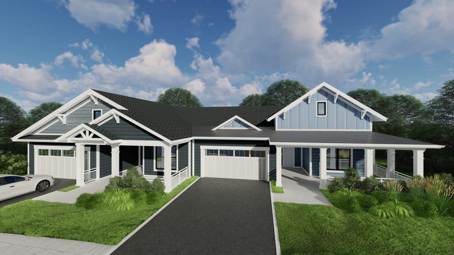 The Davis Community cottages